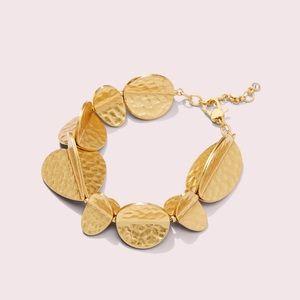 🍀🍀Kte Spade Metal Petal Bracelet